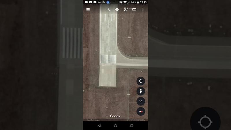 Ейск вид из космоса аэропорт 24 02 20