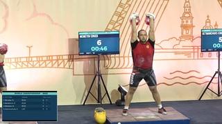 Энвер Меметов завоевал серебро на международном турнире по гиревому спорту!!!!!