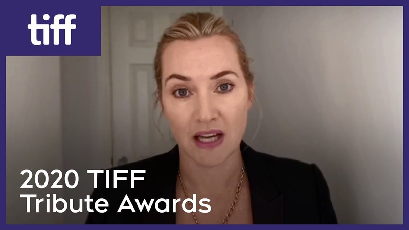 Kate Winslet praises front line workers while accepting award 2020 TIFF Tribute Awards