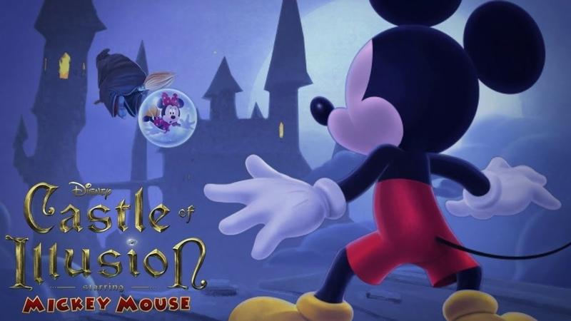 Воздушный замок Диснея Castle of Illusion Игровой стрим