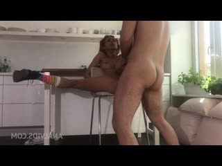 Hot latina girlfriend Veronica Leal gives perfect blowjob to Raul Costa and gets anal fucked at home OTS071 [Anal, All Sex]