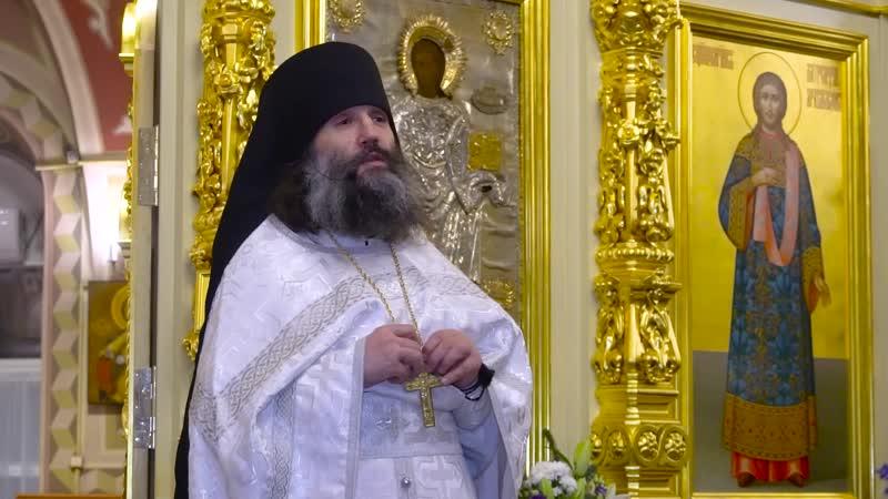 Господь ждёт что мы откликнемся на Его любовь к нам Проповедь игумена Варнавы Соколова в рождественскую ночь