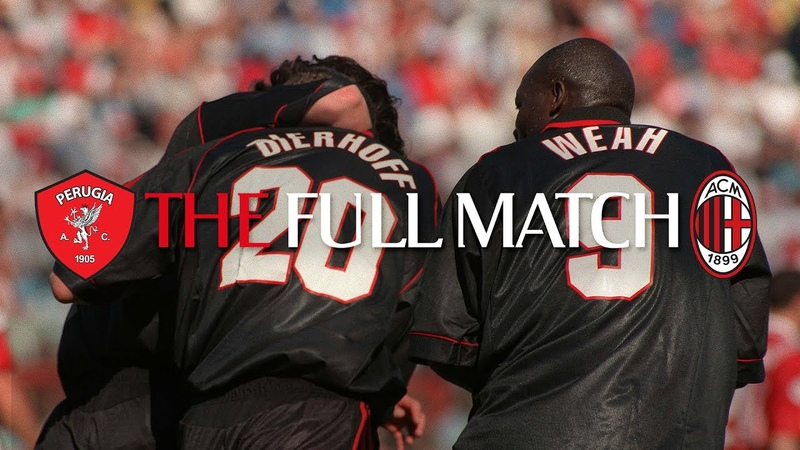 Full Match Perugia 1 2 AC Milan Serie A 1998 99
