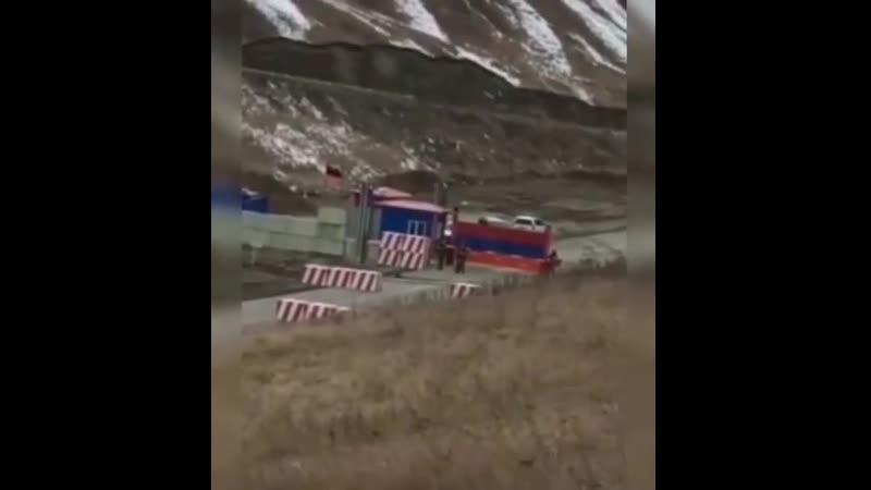 Азербайджанцы кошмарят армянских пограничников