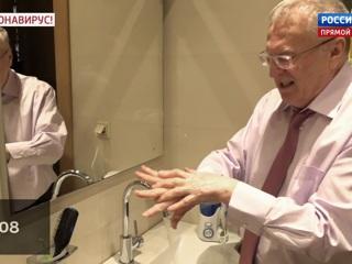 Андрей Малахов. Прямой эфир. Коронавирусная изоляция: в России запустили флешмоб с мытьем рук