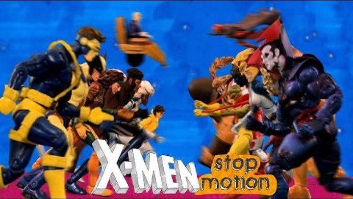 Люди Икс Заставка Кукольная Заставка X Men 1992 opening Russian