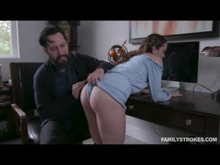 [FamilyStrokes] Lily Glee - Disciplined Stepdaughter Dick Down (2020-01-16)