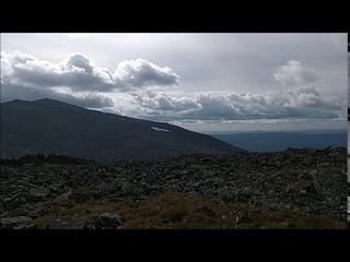 Ориентирование в горах по снежнику (леднику)