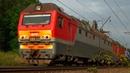 Электровоз 2ЭС6 710 Синара с контейнерным грузовым поездом Большая Московская Окружная ж д
