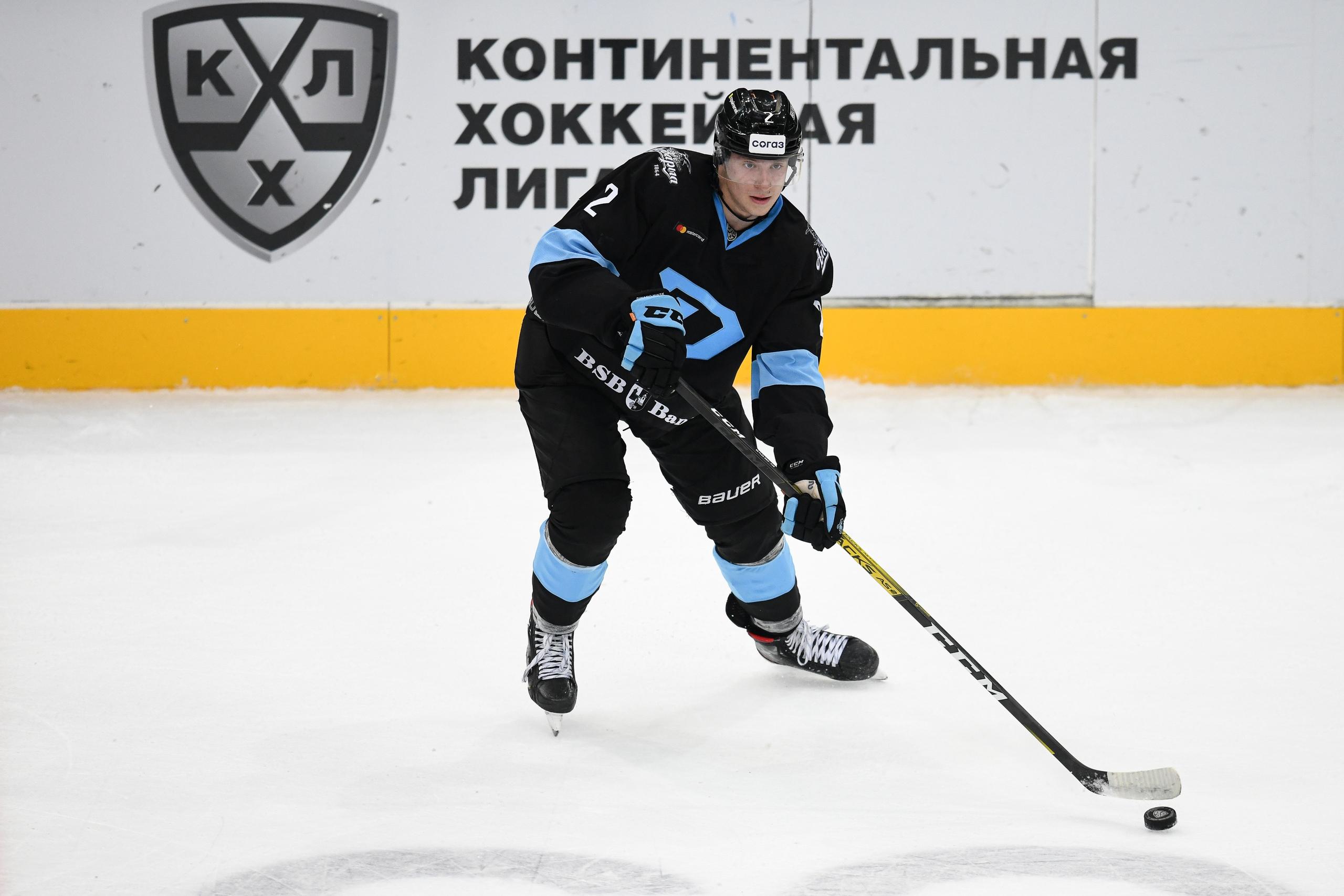 Илья Соловьев: «Ночью поздравляли с выбором на драфте НХЛ, было приятно»