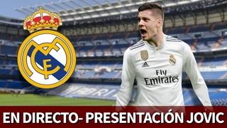 Presentacin de JOVIC en DIRECTO desde el estadio SANTIAGO BERNABU | Diario AS