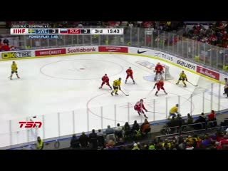 Sweden vs. Russia (SF) - 2020 IIHF World Junior Championship