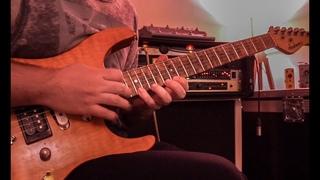 Savatage - Summer's Rain Guitar Solo Cover