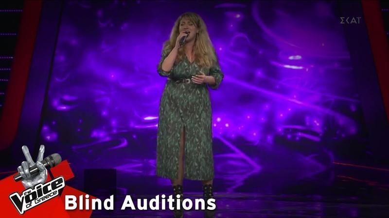 Άννα Ρενιέρη Call Out My Name 12o Blind Audition The Voice of Greece