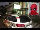 Adolescente vestido de Homem-Aranha agride suspeito de pedofilia em Joaçaba