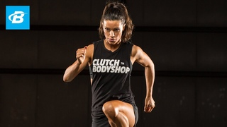 At Home Cardio and Core Workout: Day 26 | Clutch Life: Ashley Conrad's 24/7 Fitness Trainer