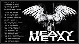 Iron Maiden,,Metallica, Helloween, Black Sabbath - Heavy Metal Hard Rock Music 2019