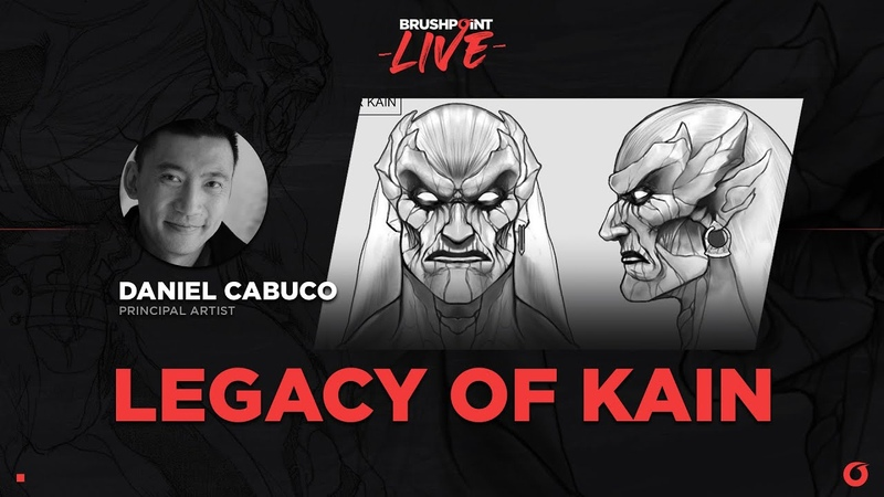 BRUSHPOINT LIVE Legacy of Kain with Daniel Cabuco