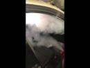 Обработка автомобиля wolksvagen сухим туманом