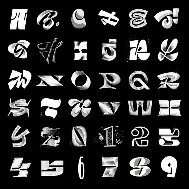Шрифты для вконтакте на картинках