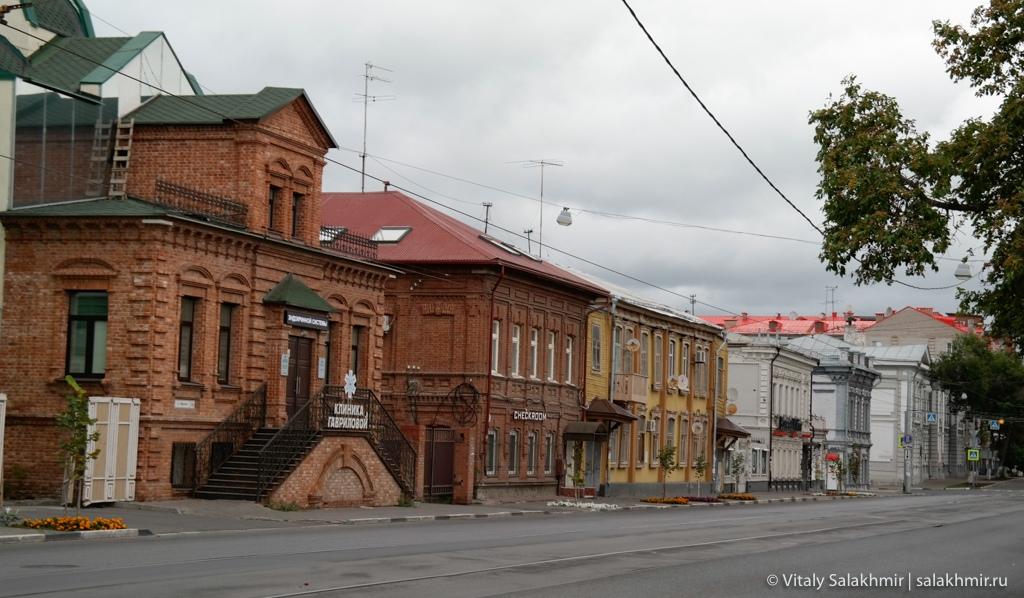 Исторический центр Самары, путешествие по России 2020