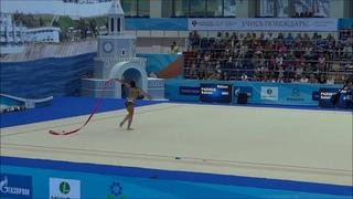 Выступление Саломе Пажава на Кубке мира по художественной гимнастике, Казань 2016