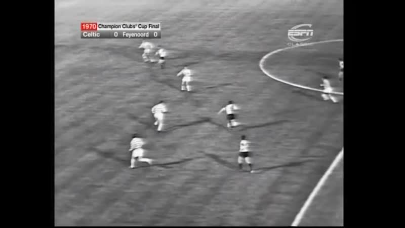 Фейеноорд Селтик Финал Обзор от ESPN КЕЧ 1969 1970