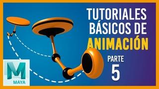 Tutorial básico de animación en Maya ::: Péndulo animado / Pendulum animation in Maya