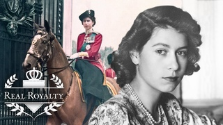 When Queen Elizabeth II Was A Young Girl | A Remarkable Life | Real Royalty