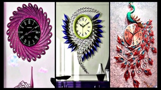 12 wall clock  decor part - 2 | watch decoration ideas | art and craft | Fashion pixies