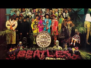 The Beatles - Sgt. Pepper's Lonely Hearts Club Band / With a Little Help from My Friends (1967)
