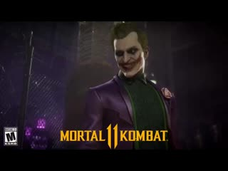 Mk11 new joker victory pose