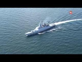 «Доказали эффективность системы управления» главком ВМФ оценил учения «Океанский щит»