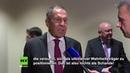 Lawrow zu US-Visa-Verweigerung für russische UN-Delegierte: Eine Unverschämtheit, nichts als Schande