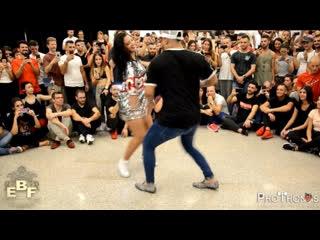 Carlos Espinosa y M Angeles [Ya No Quiero Na] @ Europe Bachata Festival 2018