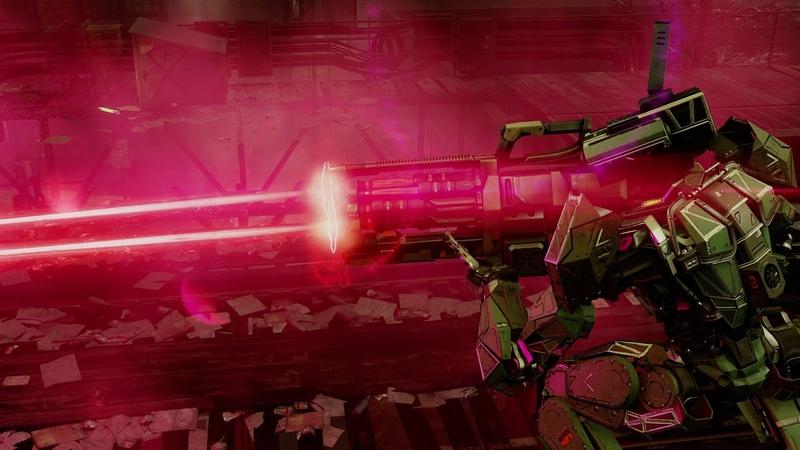 XCOM 2 SPARK Laser Autocannon WIP 2 15 shots