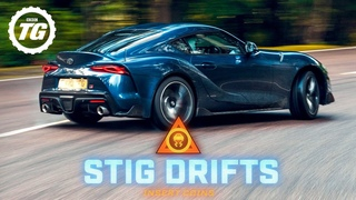 STIG DRIFTS: 2020 Toyota GR Supra drifting on the limit | Top Gear