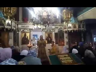 Архиерейская служба в Вознесенском храме г. Спасска. Проповедь Владыки Марка.
