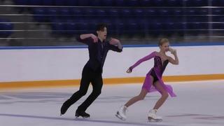 X зимняя Спартакиада учащихся юношеская Тaнцы нa льду Ритм танец 9# Алиса ОВСЯНКИНА   Артём ФРОЛО МО