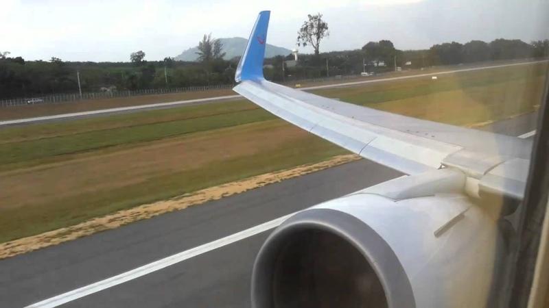 TUIfly Nordic   Boeing 767-300ER   Take off at Phuket International Airport