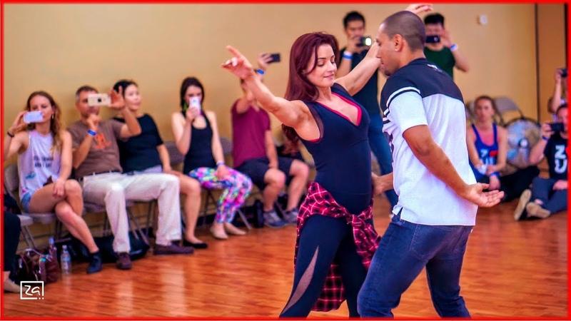 Despacito - Zouk Dance by Kadu Pires Larissa Thayane at Zouk Atlanta