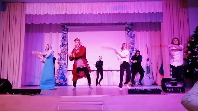 Космо Баттл - Танец Мастеров с мечами