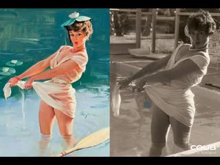 Pin-up Girls in Real Life