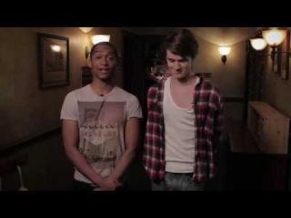 Anubis Unlocked (Season 3) : Eugene Simon (Jerome Clarke) & Alex Sawyer (Alfie Lewis)