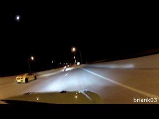 BMW S1000RR рвет заряженные 1100hp Lambo racing и Nissan R35 GT-R