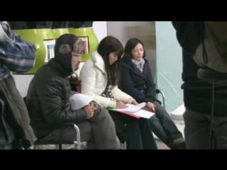 120307 SNSD Seohyun & Kim Hyun Joong - Behind The Scenes @ The Face Shop
