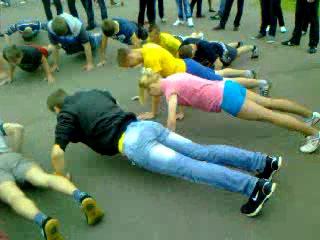 Рекодр Победы 9мая 2012 г Бобруйск