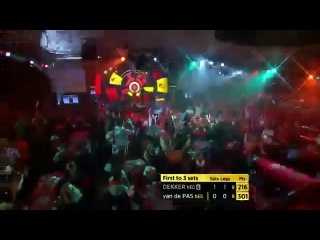 Jan Dekker vs Benito van de Pas (BDO World Darts Championship 2014 / Round 1)