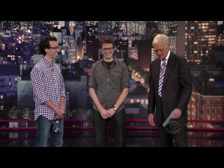 The Late Show with David Letterman - 9/25/2012 [Kaley Cuoco]