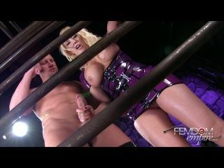 : Kagney Linn Karter - Caged And Cuckolded (2014) HD